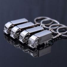 1pc Metal Truck Lorry Car Keychain Key Ring Keyfob Creative Gift Lovely
