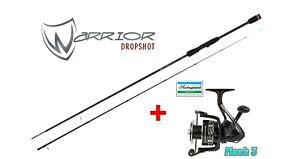 Drop Shot Set Fox Rage Warrior Drop Shot 2,40  4-17g + Shakespeare Mach3 2000