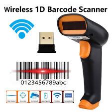 Wireless 1D Barcode Scanner Cordless 1D Bar Code Reader