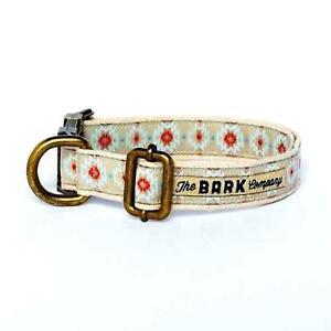 Collar And Leash For Dog Cotton Tack Metal The Bark Geronimo