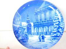 Berlin Design Christmas Plate 1974 Christmas in Bremen