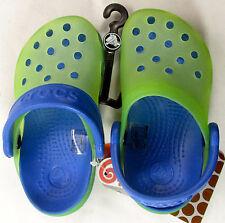 "Crocs chameleons Lime Green/sea blue C8/9 NWT ""I Change Color"" our 3047"