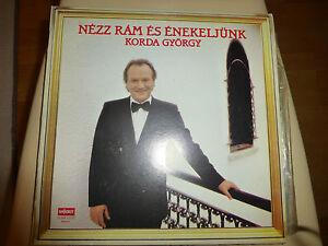 UNGARISCH  Korda György Schallplatte MAGYAR