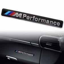 New 3D Aluminum ///M performance Car Emblem Badge Sticker Decal for BMW Black