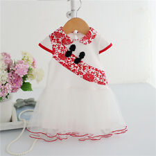 1pcs Baby infant girls newborn summer dress princess Chinese style classical