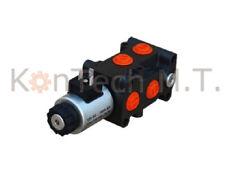 Hydraulik Magnetventil 6/2-Wegeventil NG06 24V DC, Leckölanschluss inkl. Stecker