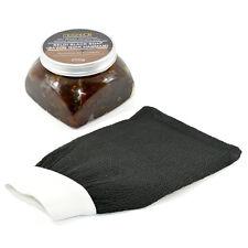 Marocain Beldi Black Soap Savon Noir 250g avec Sensible Kessa Exfoliation Gant