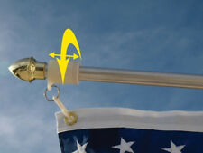Make Your Flag Pole Tangle Free W/ Never Furl No Furl 3/4 Inch Same Day Shipping