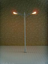 L053-10pcs 12V Scale Train Scenery Layout Model Lamp Post HO N