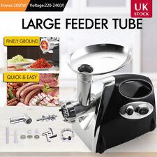 2800W Electric Meat Grinder Mincer Sausage Maker Filler Kitchen Mincing Machine