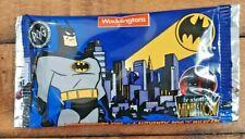 1995 Official Batman POGS - Sealed Pack! 6 Pogs + 1 Slammer - Waddingtons