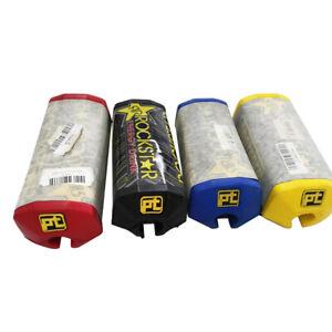 "11/8"" Handlebar Fat Bar Pad Protection Dirt Bike Chest Protector Skeleton KN"