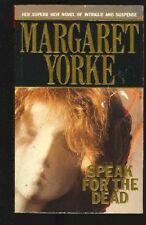 Speak for the Dead,Margaret Yorke- 9780099592808