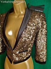 Waist Length Formal Shrug Coats & Jackets for Women