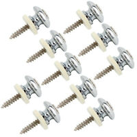 10pcs High Quality Buttons For Strap Lock System - NICKEL