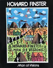 "Howard Finster's Illustrated  ""Man of Vision"" Book"