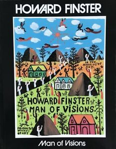 "Howard Finster's Illustrated  ""Man of Vision"" Autographed Book"