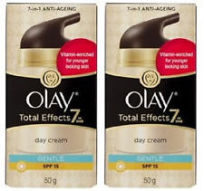 Olay Total Effects 7-in-One Anti-Aging Gentle Day Cream, SPF 15, 1.7 oz (2 Pack)