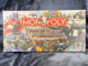 Transformers Monopoly Collectors Edition Brand NEW Sealed