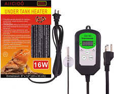 New listing Aiicioo Under Tank Heater Thermostat - Reptile Heating Pad with Temperature Cont