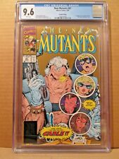 New Mutants 87 CGC 9.6 W GOLD 1st Cable & Stryfe NM+ 2nd Print X-Men #1568570004