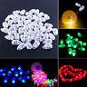 20/40pc LED-Ballon-Lampen-Papierlaterne für Weihnachten Hochzeitsfest-Deko-Licht