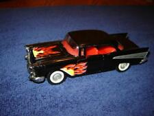 Majorette 1957 Chevy Bel-Air w/flames 1/34 Scale Ex to Near Mint Condition NICE