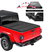 Bed Hard Solid Tri-Fold Truck Tonneau Cover For Jeep 2020 Gladiator JT Picku USA