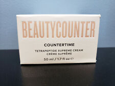 BeautyCounter CounterTime Tetrapeptide Supreme Cream 1.7oz - New! Beauty Counter
