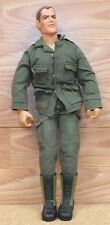 "1992 Hasbro 11.5"" G.I. Joe Action Figure w/ Scar & 21st Century Toys Outfit"