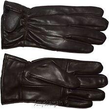 Men's gloves, Large Brown Unbranded men's hand warmer, winter leather gloves BN