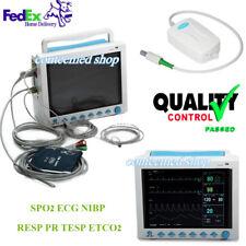 CONTEC 7-Parameter Vital Signs ICU/CCU Patient Monitor,Capnograph CO2 USA FEDEX