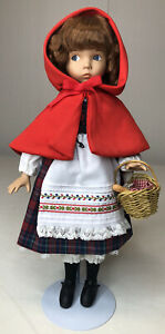 Dianna Effner Little Red Riding Hood Porcelain Doll Knowles