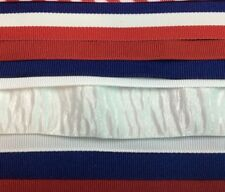 Grosgrain ribbon 40 yrds red, white, blue Stars and Stripes 2 yds of 20 differnt