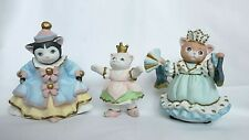 Lot of 3 Schmid Kitty Cucumber 1994 Figurines from the Cinderella Collection