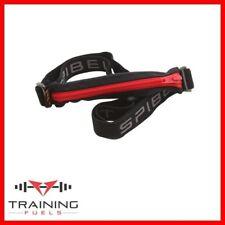 Spibelt Running Belt Non Bounce for Phone Expandable Pocket Black Red