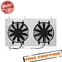 Mishimoto MMFS-S13-89SR Pair Radiator Cooling Fans /& Shroud Kit for 89-94 240SX