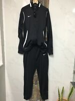 LARGE Nike Women's Team Enforcer Warm-Up SUPER GIRL Jacket/ Pants Set 621954.