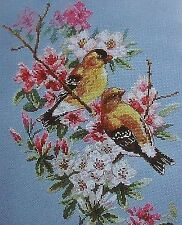 Counted Cross Stitch Kit ALISA - SPRING SONG