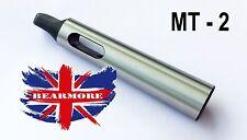 Arbol de MT2 a MT3 Eje Morse Cono Taladro Manga Calidad de servicio pesado Reino Unido
