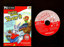 READER RABBIT YEAR 2. EDUCATIONAL SOFTWARE FOR AGES 6-8 ON THE PC!!