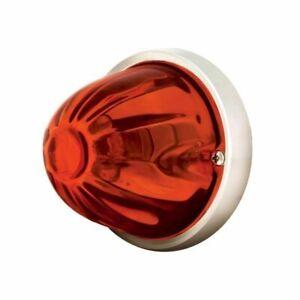 dark amber watermelon glass light kit incandescent old school flush mount 79750
