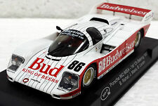 "SLOT IT Porsche 962 IMSA ""Budweiser"" #86 1st 12hr Sebring SICA25C 1/32 Slot Car"