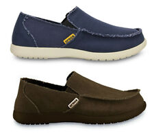 Crocs Mens Santa Cruz Canvas Lightweight Casual Loafers.