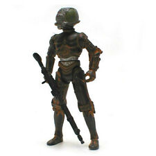 """STAR WARS -4 LOM  Bounty Hunter 3.75"""" toy figure loose with weapon"""