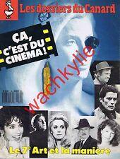 Les dossiers du canard n°24 du 06/1987 Cinéma Acteur Actrices Cannes Césars