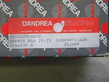 D`Andrea Weldonaufnahme,Toprun,  SK 40 DIN 69871 A40 WLD20.75