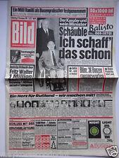 Bild Zeitung - 29.11.1990, John Wayne, Madonna, Kirsten Otto, Werner