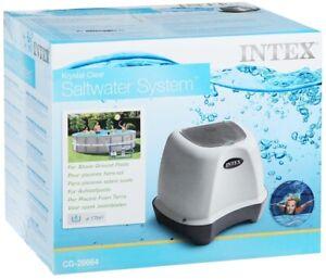 Krystal Clear Saltwater System Pool Chlorinator 4500GAL/17000L INTEX 26664  220V
