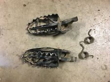 2004-2008 Honda CRF250 Right And Left Step Arm And Springs